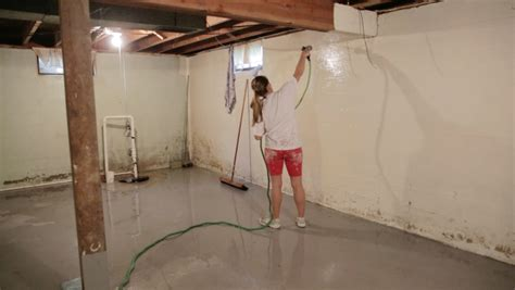 How To Clean A Basement Floor by Cleaning Basement Floor Home Design
