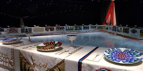 dinner by judy chicago global feminisms review the new york times