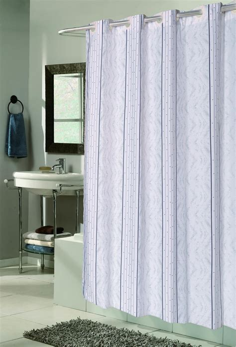 no shower curtain carnation home fashions inc quot ez on quot fabric shower
