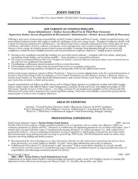 senior administrator resume template premium resume