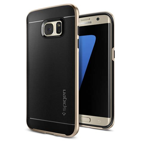 Original Fonel Simple Wallet Samsung Galaxy S7 Gold spigen neo hybrid samsung galaxy s7 edge chagne gold