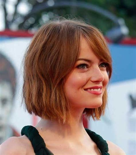 how to get emma stone short hair cutting steps 15 perfect bob haircuts bob hairstyles 2017 short
