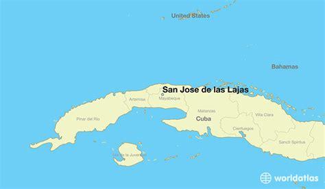 san jose in world map where is san jose de las lajas cuba where is san jose