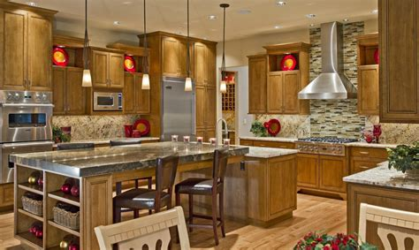 luxury kitchen country house design with modern style