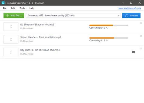 download aplikasi mp3 converter gratis cara merubah format file audio dengan software audio