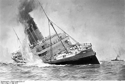 Sinking Of The Rms Lusitania last lusitania survivor dies at age 95 the cotton boll