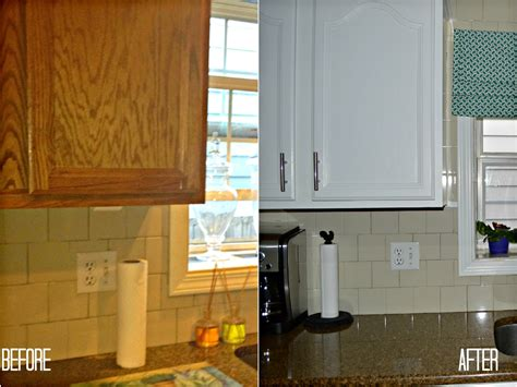Painting Kitchen Cabinets Before And After Car Interior Painting Oak Kitchen Cabinets White Before And After