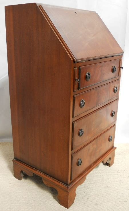 Small Mahogany Desk Georgian Style Small Mahogany Writing Bureau Desk