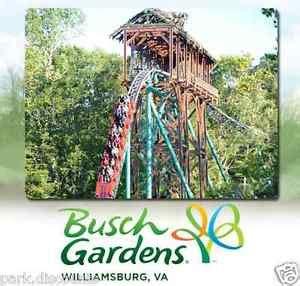 20 busch gardens williamsburg virginia tickets 52