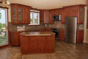 shaped kitchen traditional