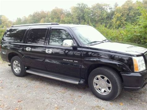 how does cars work 2003 cadillac escalade esv transmission control find used low miles 2003 cadillac escalade esv 80 000 in galion ohio united states