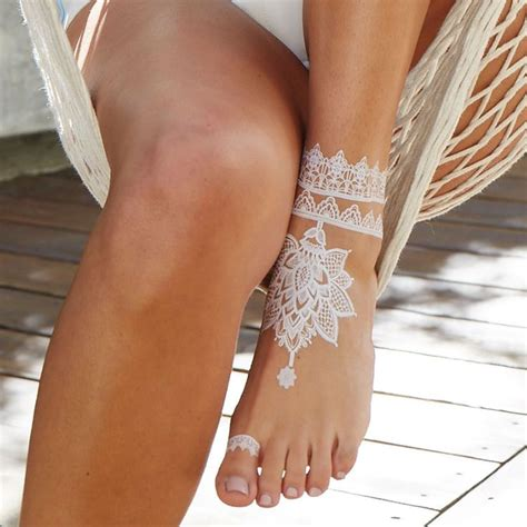 henna temporary tattoo places best 20 white henna ideas on