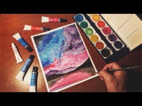 dibujos para pintar con acuarelas como pintar una galaxia con acuarelas dibujo tumblr