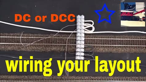 wiring  model train layout bus  feeder wires  dcc youtube