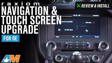 Mustang Raxiom Navigation & Touch Screen Upgrade For OE ... F 150 2015