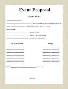 7 event proposal template timeline template