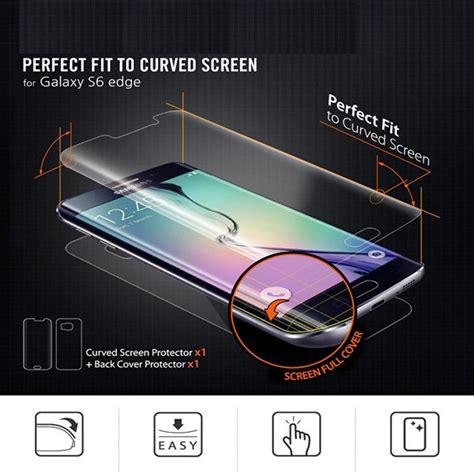 Zilla 3d Pet Screen Protector Samsung Galaxy S6 Edge Baru zilla 3d pet screen protector for samsung galaxy s6 edge jakartanotebook