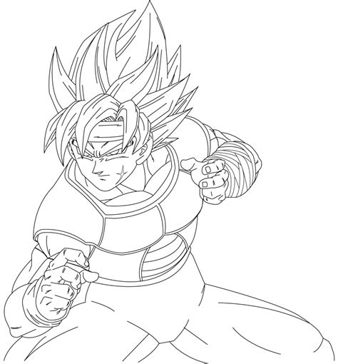 dragon ball z coloring pages bardock the gallery for gt dragon ball z coloring pages bardock
