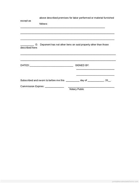 free affidavit template printable affidavit of ownership 2 template 2015 sle