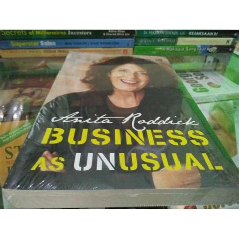 Business As Roddick Bestseller business as