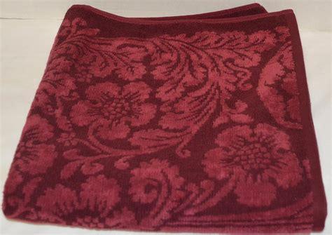ralph lauren venetian court burgundy bath towel hand towel or washcloth new ebay