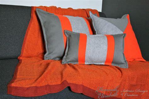 plaid canapé gris d 233 coration et ameublement appartement dijon