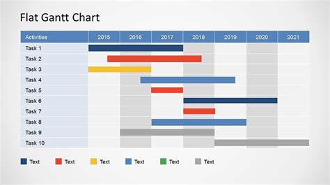25 Free Gantt Chart Powerpoint And Excel Templates Mashtrelo Free Powerpoint Gantt Chart Template