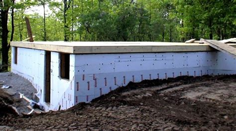 Cinder Block Garage Plans by Slab On Grade Or A Foundation And Basement Green Home
