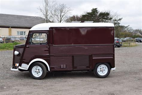 Citroen H For Sale by Vintage Food Truck Citroen Hy Vans