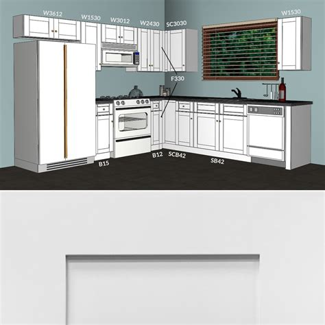 kitchen layout 10 x 9 lesscare alpina white 10x10 kitchen cabinets group sale