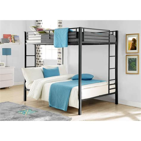 bunk beds  sale kids full size  double bedroom loft furniture space saver ebay
