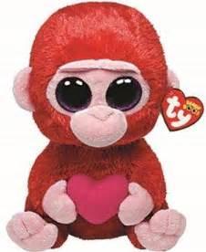 beanie boo valentine gorilla beaniebooblogz