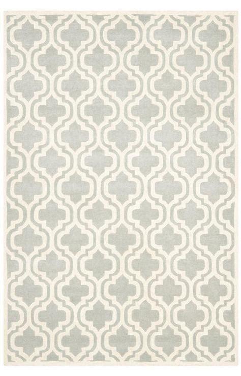 safavieh chatham grey ivory quatrefoil rug