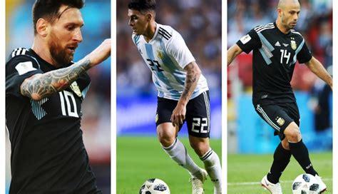 argentina vs croacia en vivo alineaciones de partido por