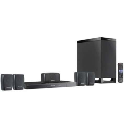 panasonic sc xh50 330w dvd home theater system