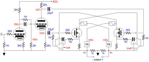 Power Lifier Ea otl lifier schematic bench regulated supply