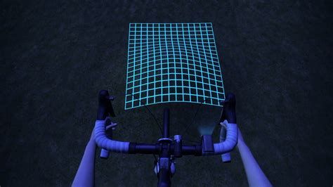 grid pattern bike light chinese university invents led bike light for mapping
