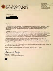 Acceptance Letter Of Maryland An Open Letter To High School Students Who Are Struggling With Self Worth And Applying To