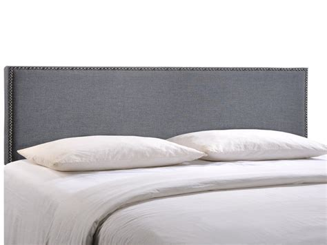 upholstered grey headboard gray fabric headboard modern gray fabric upholstered bed