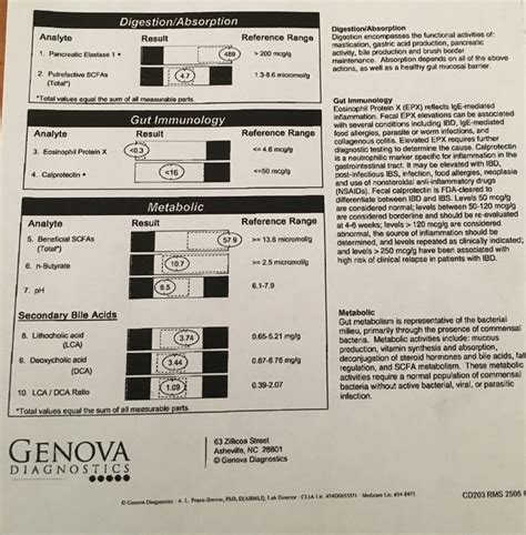 Leaky Gut Stool Test by Cdsa 2 0 Stool Test Results In Help Would Be Appreciated