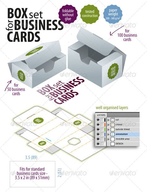 paper business card holder template poster 14 business card template paper box images business card