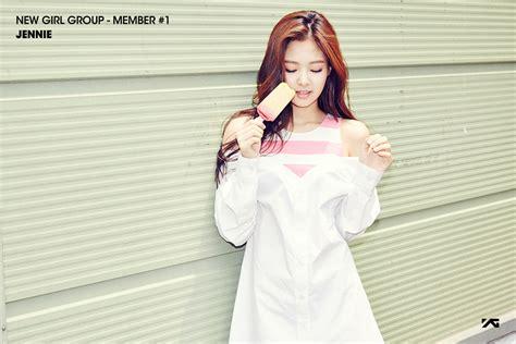 blackpink jennie yg entertainment to debut 4 member girl group blackpink