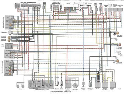 1982 yamaha maxim wiring diagrams wiring diagram