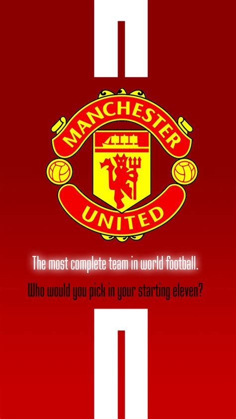 wallpaper iphone manchester united manchester united iphone wallpaper wallpapersafari