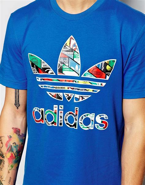 T Shirt Adidas 5 the gallery for gt adidas originals white and black