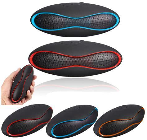 Speaker Bluetooth Portable Wireles Ibox Mini X6 Rugby Berkualitas mini x 6u sound rugby football wireless bluetooth speaker aux usb portable audio player