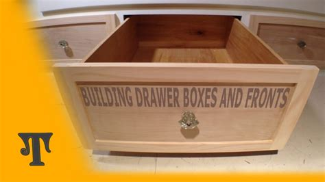 Tongue And Groove Drawers by Building Plywood Drawer Boxes With Finger Joints And