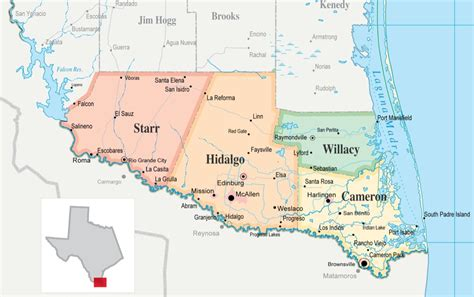 grande texas map lower grande valley consists of many rural cities towns major cities brownsville mcallen