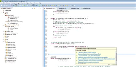 type layout cannot be resolved or is not a field java cannot be resolved to a type error stack overflow