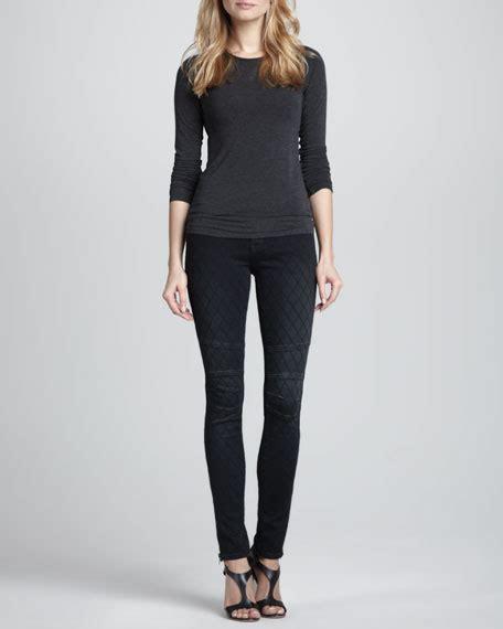 pattern cuff jeans d id denim patterned zipper cuff skinny jeans vintage black